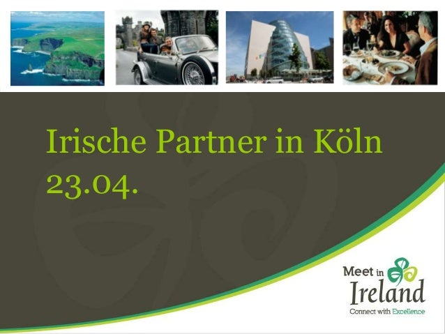 Irische Partner in Köln 23.04.