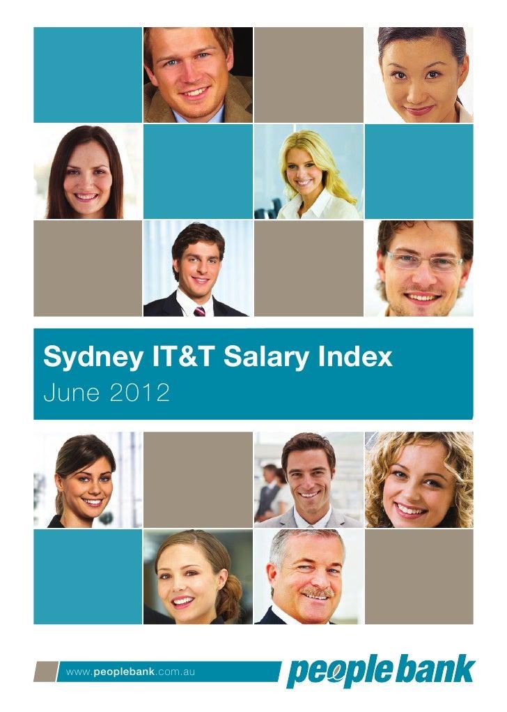 People Bank Sydney IT & T Salary Index