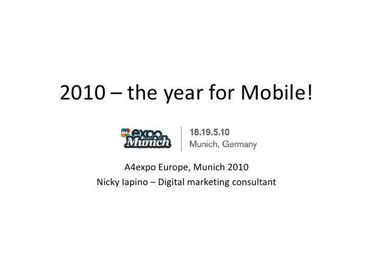 Nicky Iapino - Going Mobile