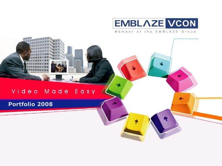 1 Portfolio 2008 Briefing