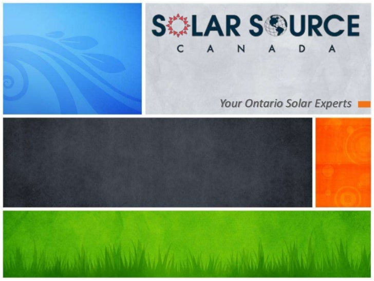Your Ontario Solar Experts