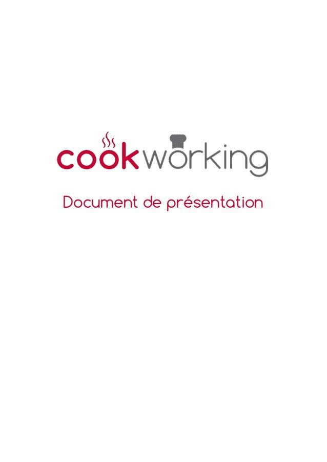 Cookworking - présentation du concept de cuisine partagée