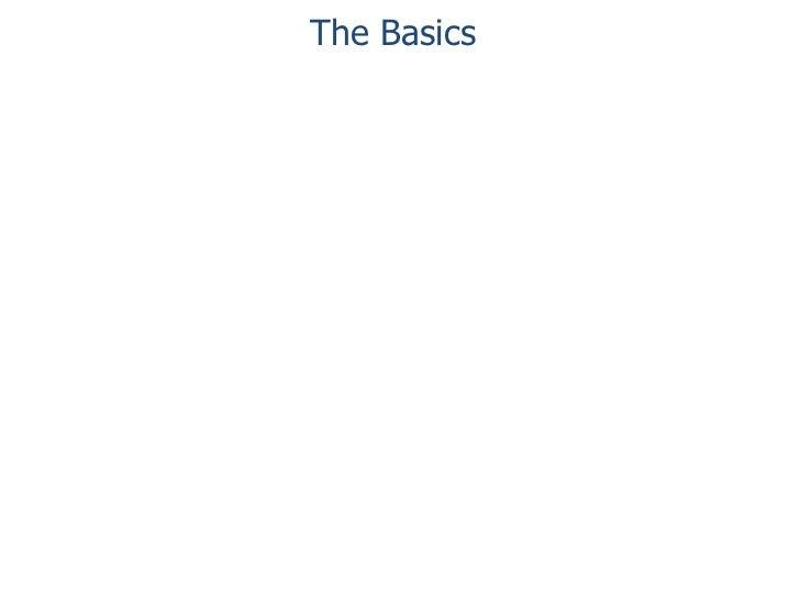 The Basics<br />
