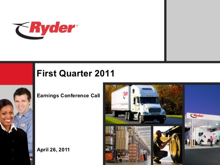 Q1 2011 Ryder System, Inc. Earnings Report