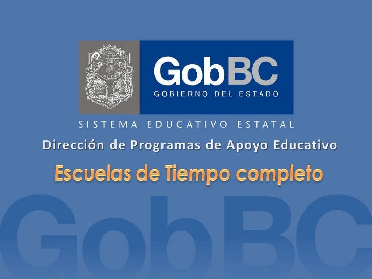 Presentacion del Programa Escuelas de Tiempo Completo dirigida a Padres de Familia