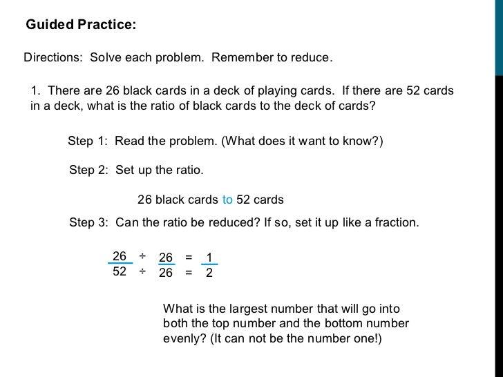 Ratio solving problems
