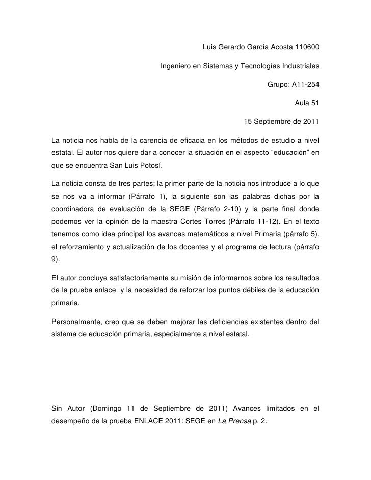 Luis Gerardo García Acosta 110600<br />Ingeniero en Sistemas y Tecnologías Industriales<br />Grupo: A11-254<br />Aula 51<b...