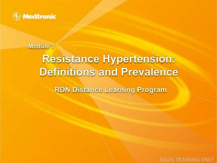 1 resistant hypertension