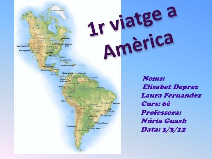 Noms:Elisabet DeprezLaura FernandezCurs: 6èProfessora:Núria GuashData: 3/3/12