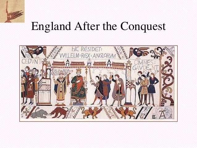 England After the Conquest