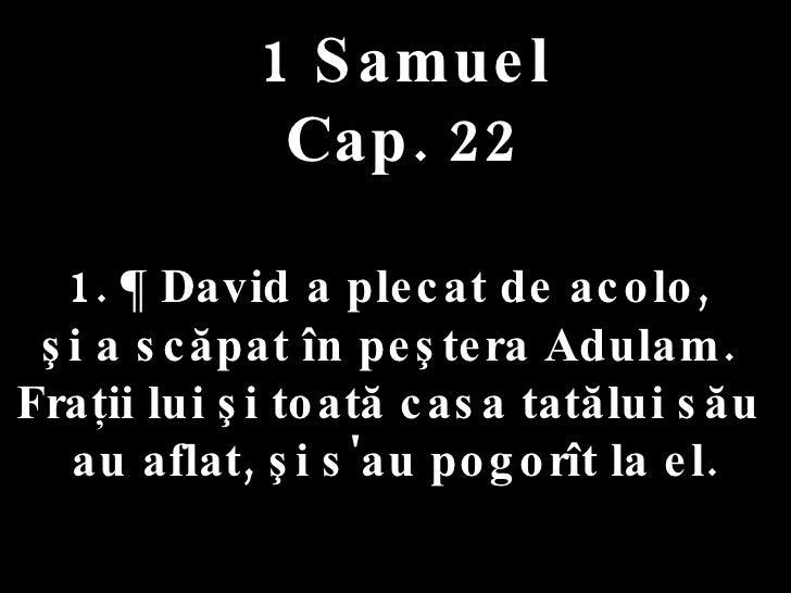 1 Sam 22