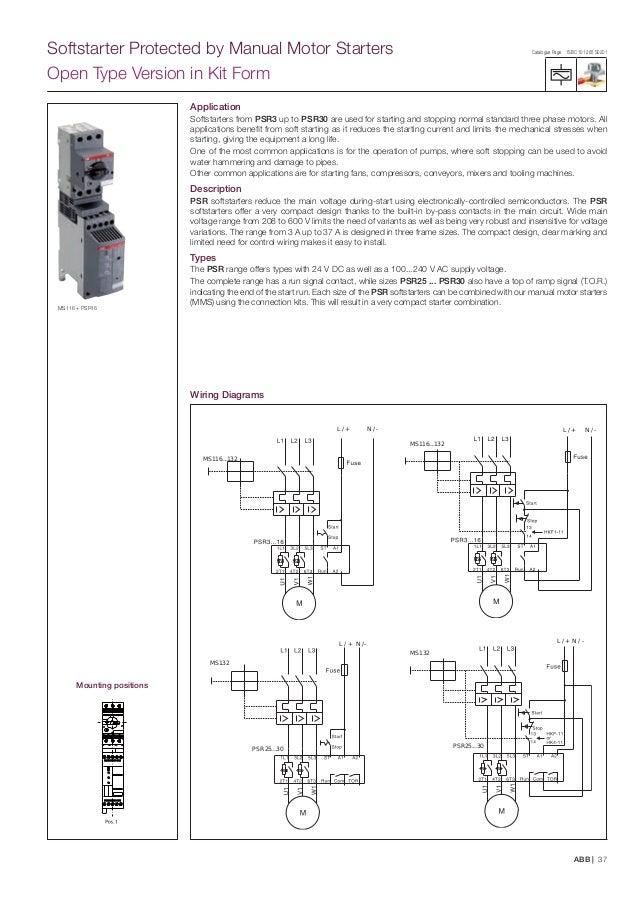 Abb Motor Starter Wiring Diagram - Wiring Diagram