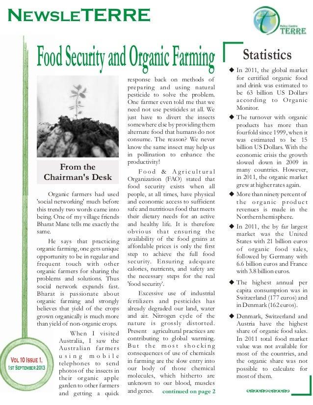 NewsLeTERRE -Organic Farming