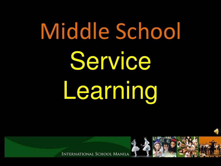 1 service learning