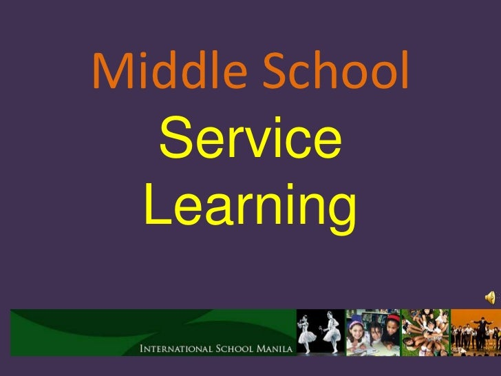 Middle School  Service Learning
