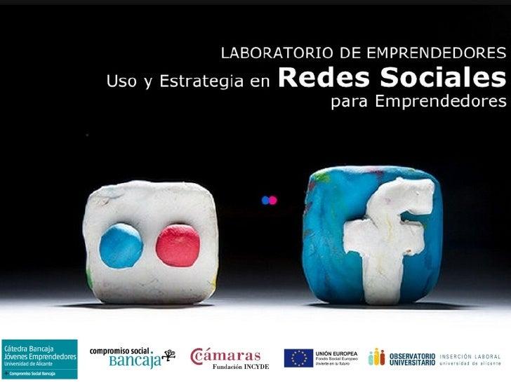 Introducción al  social media emprendedores  2012