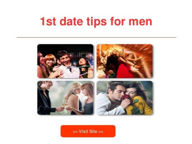 1st date tips for men