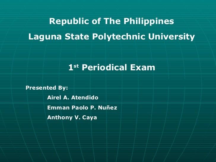 Periodical Exam