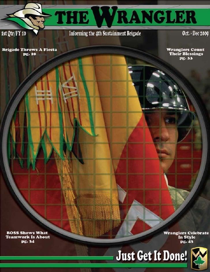 Wrangler Magazine (1st Qtr FY 10)