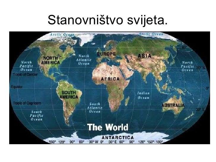 Stanovništvo svijeta.