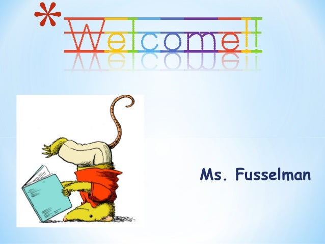 Ms. Fusselman