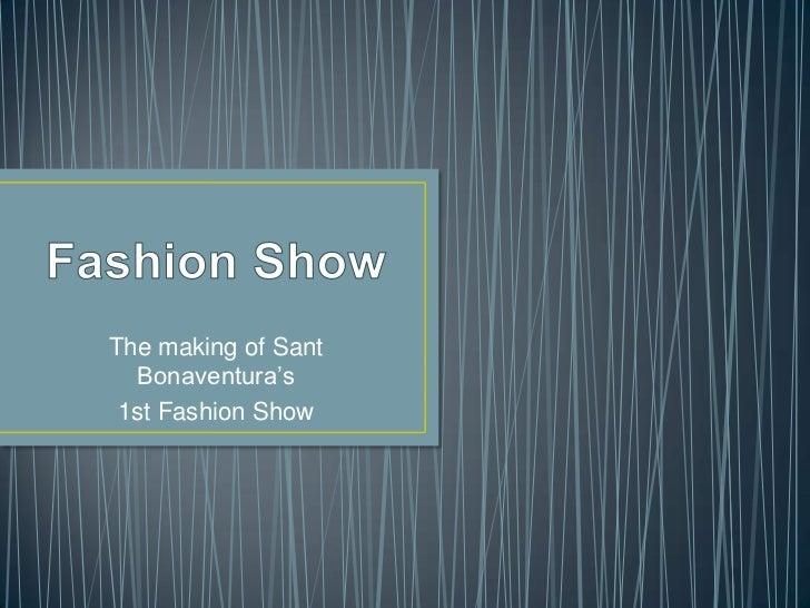 1st fashion show 2012