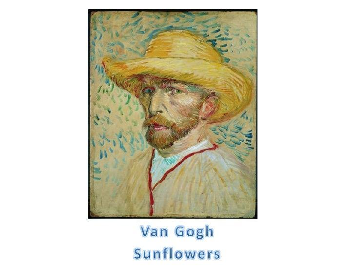 1st Grade Van Gogh Sunflowers