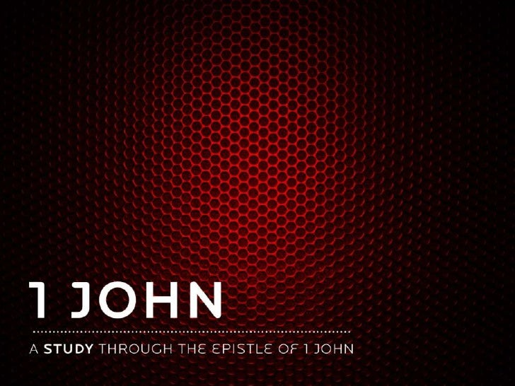 1st john   the law of love