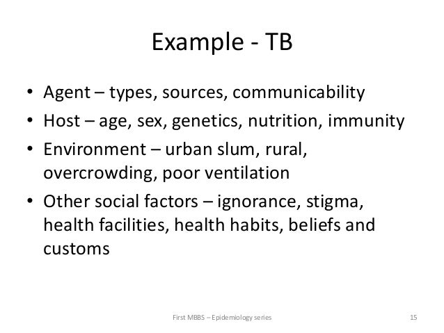 Agents Examples Example tb • Agent – Types