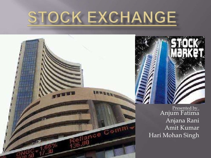1 stock exchange an its importance