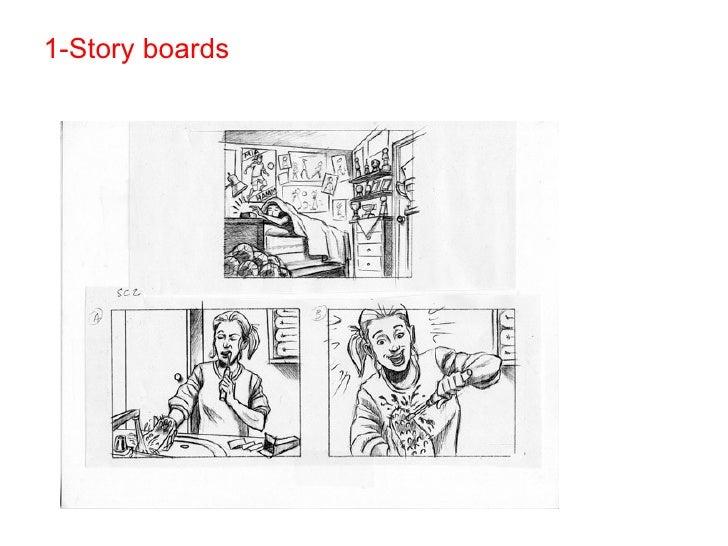 Exemples de Story Boards
