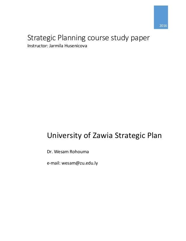 course paper