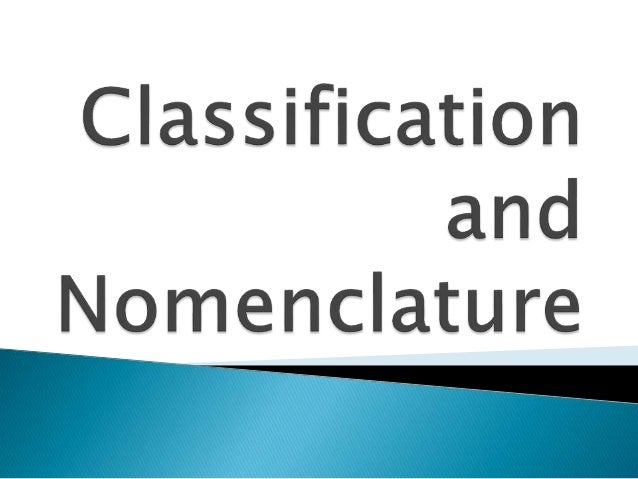Classifiction and Nomenclature of Kingdoms of Life