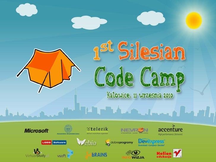 1st Silesian Code Camp - Czy jesteśmy gotowi na SQL Azure?