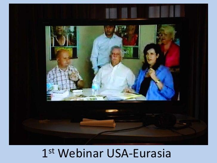 1st Webinar USA-Eurasia