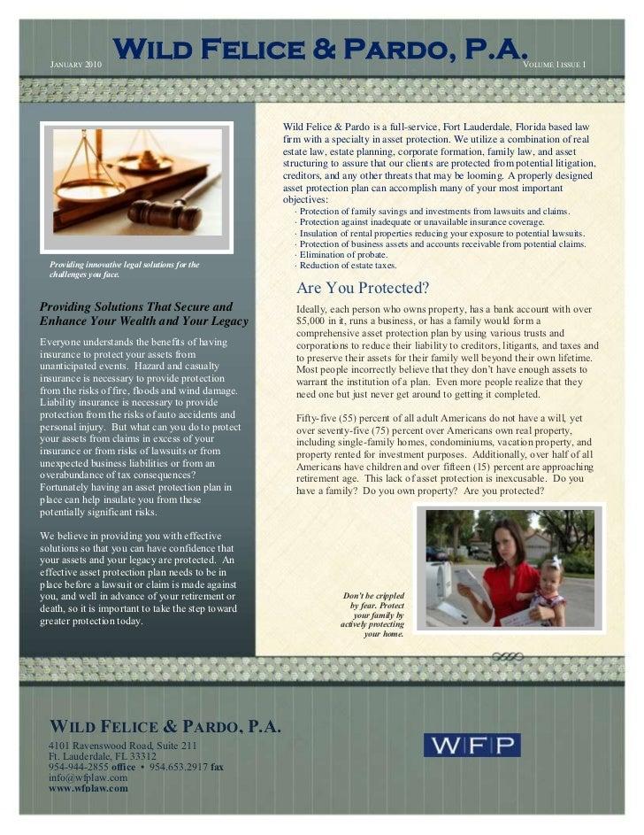 1st wfp newsletter january2010