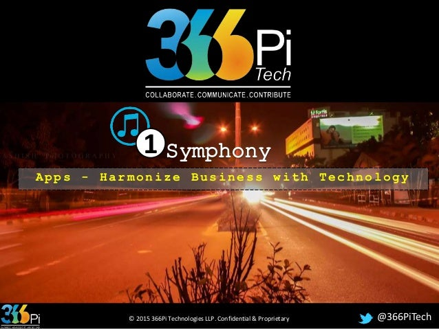 1Symphony - Apps for Manufacturing Companies