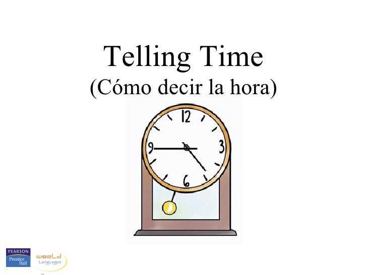 1 telling time