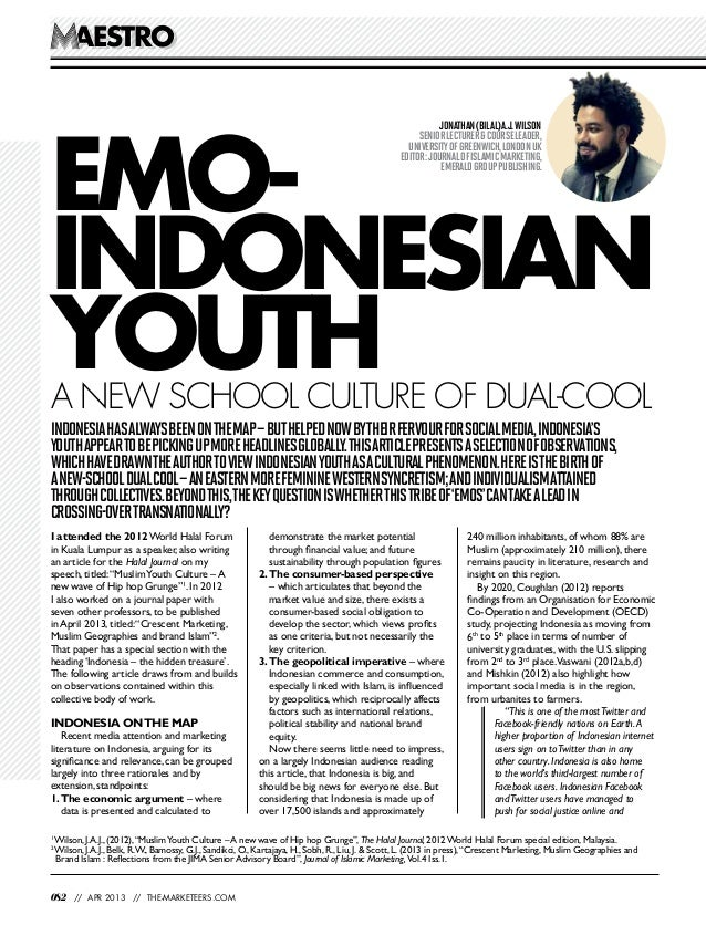Muslim Emo Indonesian Youth – A New School of Dual Cool