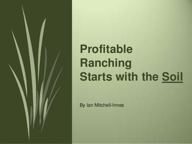 The Soil Ian Mitchell-Inness