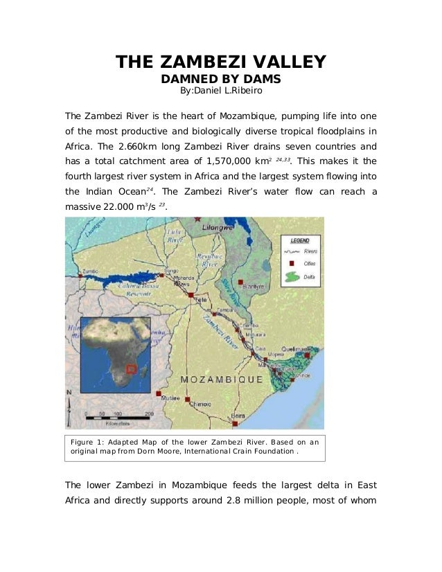 THE ZAMBEZI VALLEY DAMNED BY DAMS By:Daniel L.Ribeiro The Zambezi River is the heart of Mozambique, pumping life into one ...