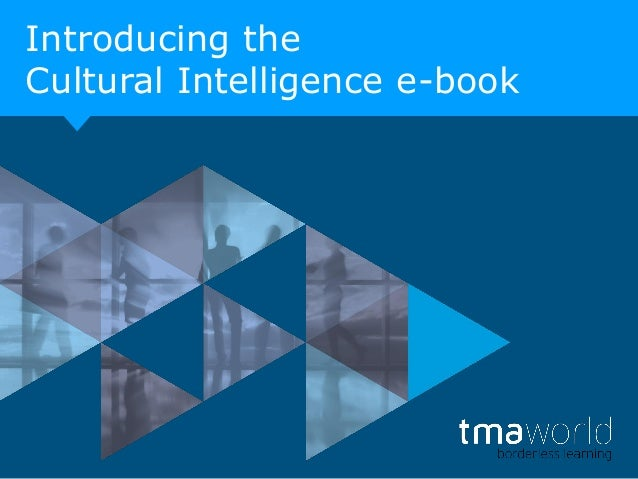 Introducing the Cultural Intelligence e-book