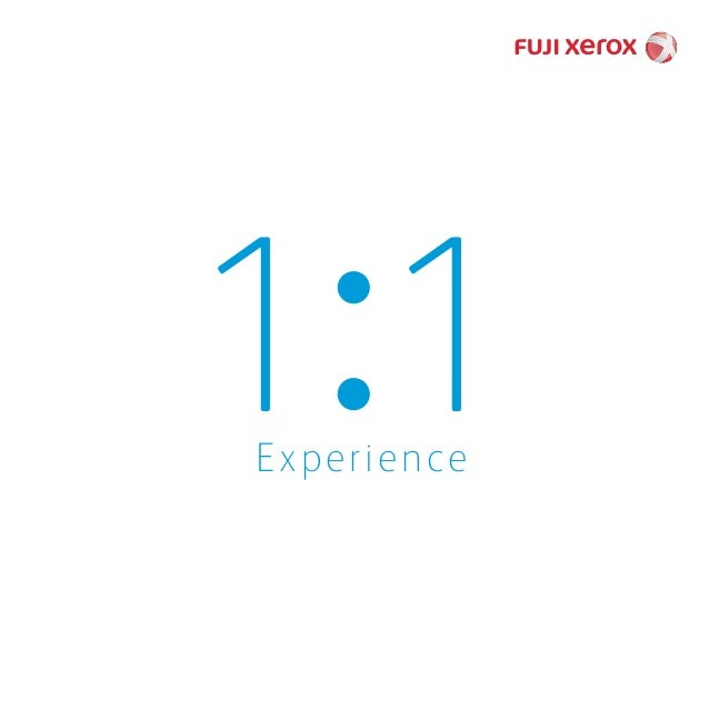 What is the 1 to 1 experience?