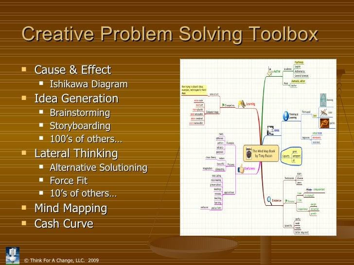 Creative problem solving tools