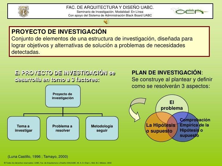 FAC. DE ARQUITECTURA Y DISEÑO UABC.<br />Seminario de Investigación. Modalidad: En Línea<br />Con apoyo del Sistema de Adm...