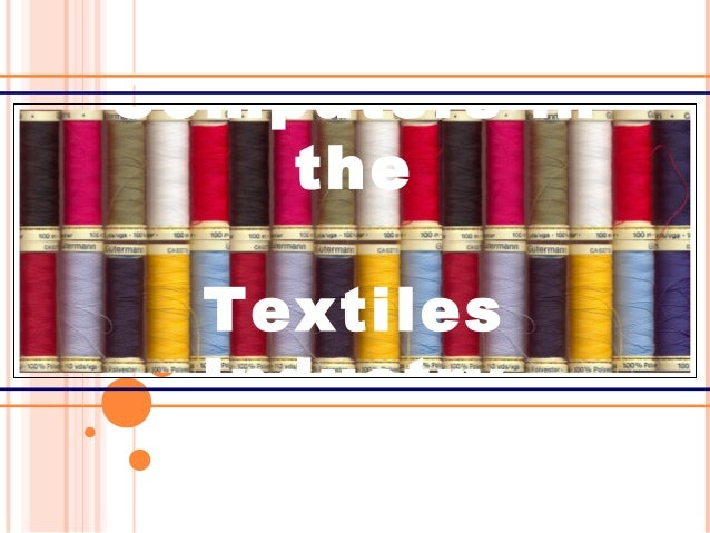 Computers in the Textiles Industry