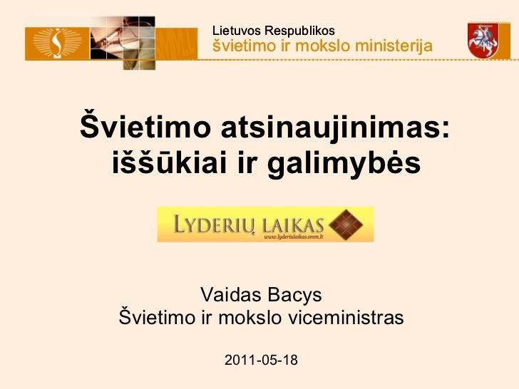 V. Bacio kalba