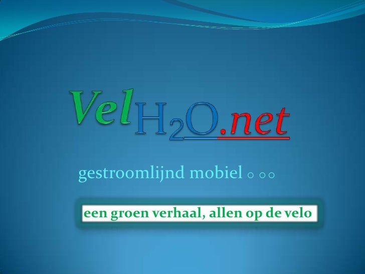 velh2o.net > veilige fietspaden