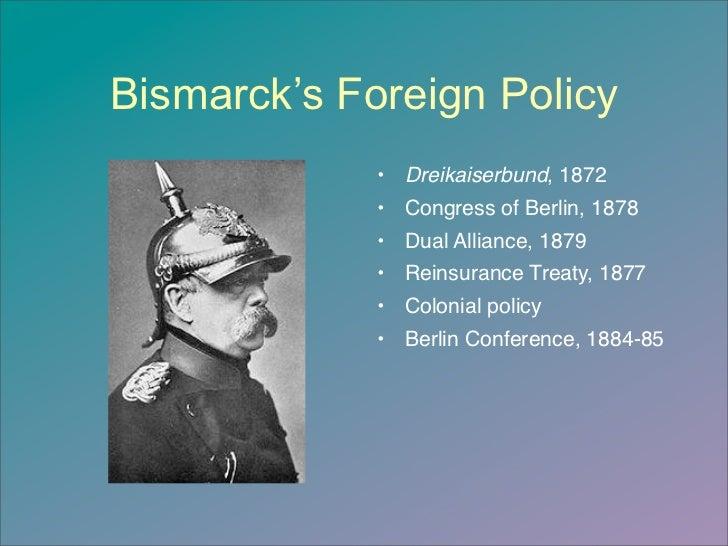 Bismarck foreign policy essay