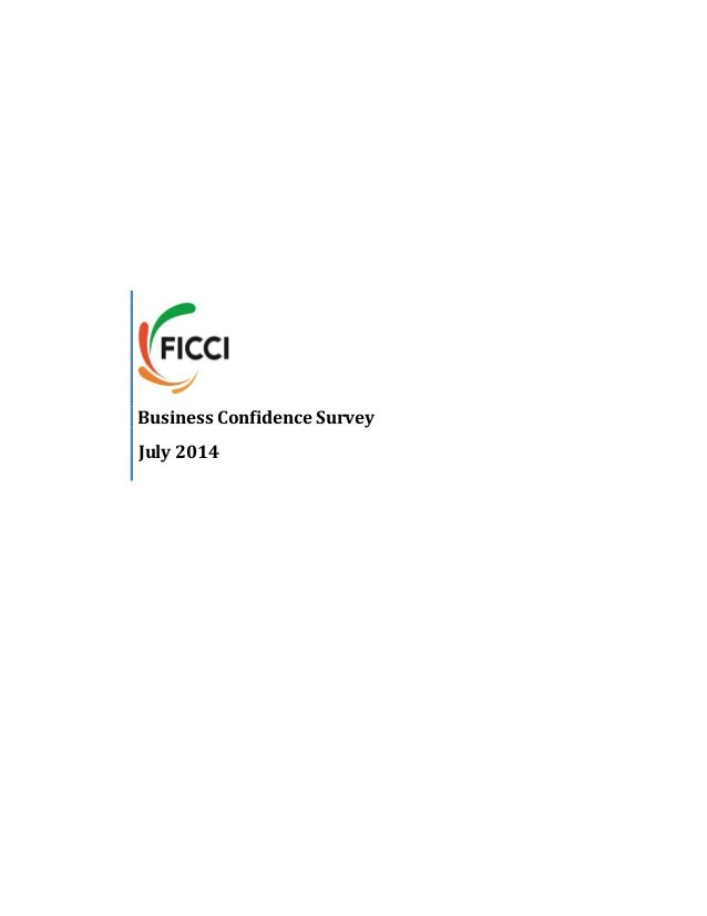FICCI's Business Confidence Survey for July 2014